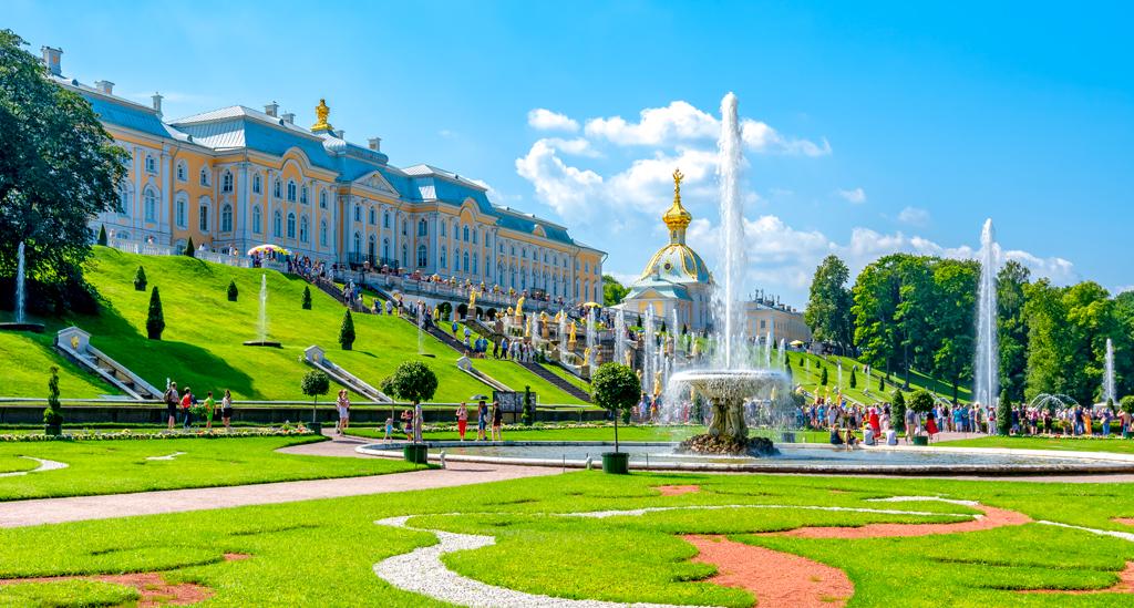 Peterhof Sint-Petersburg