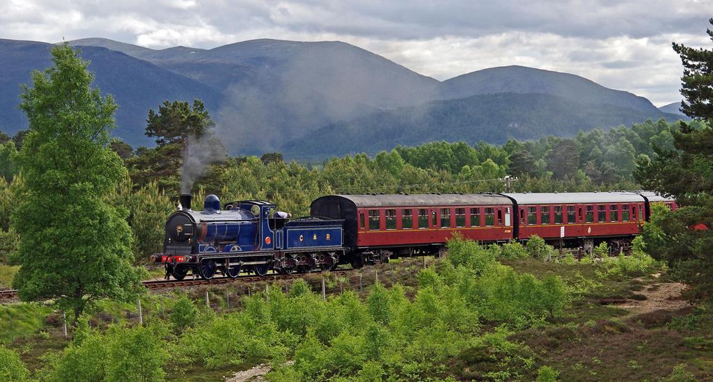 Strathspey Railway Caledonian Railway