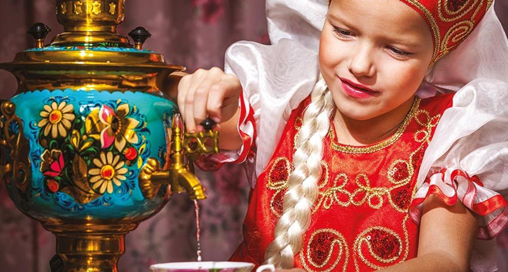 Rusland theeceremonie