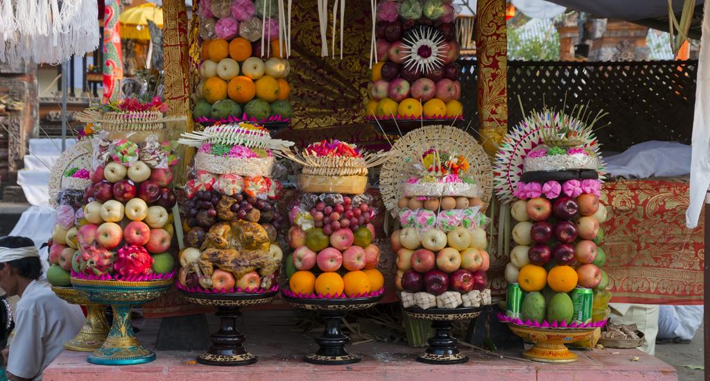 Een gezellige, lokale markt