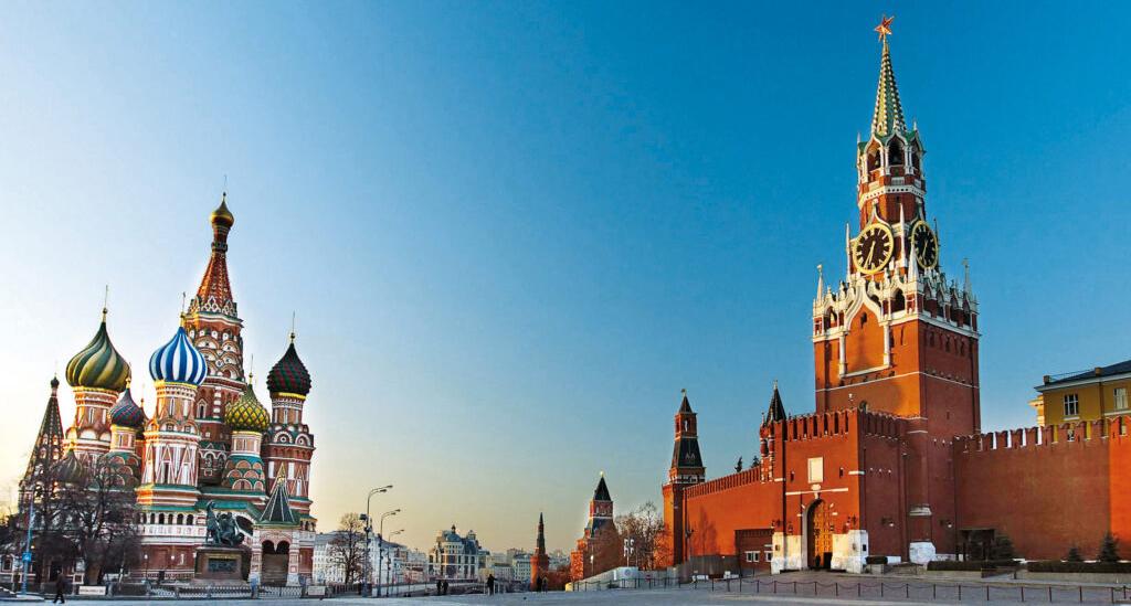 Het Rode Plein in Moskou