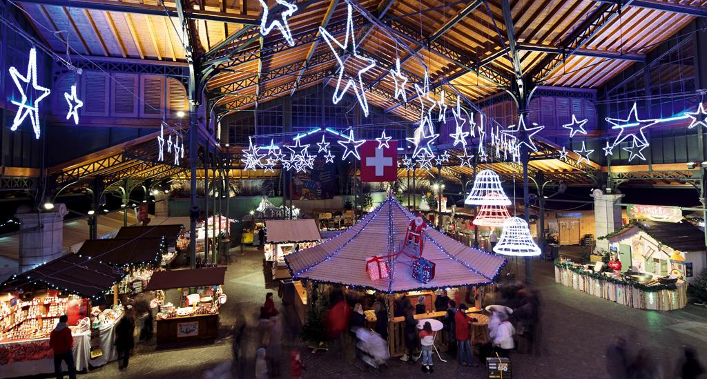 Kerstmarkt Montreux