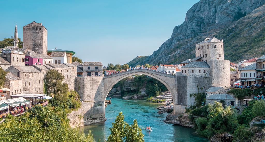 Neretva Rivier, Mostar