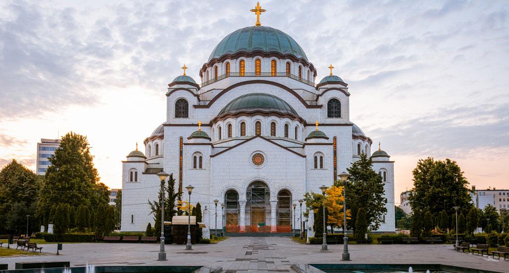 Saint Sava kerk Belgrado