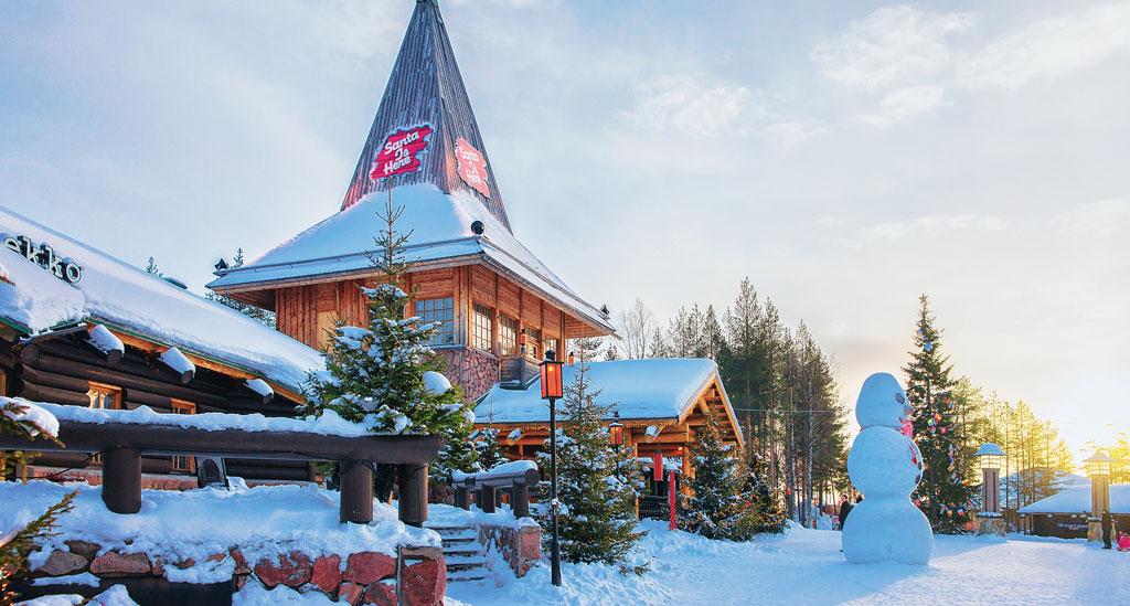 Santa's Village in Rovaniemi