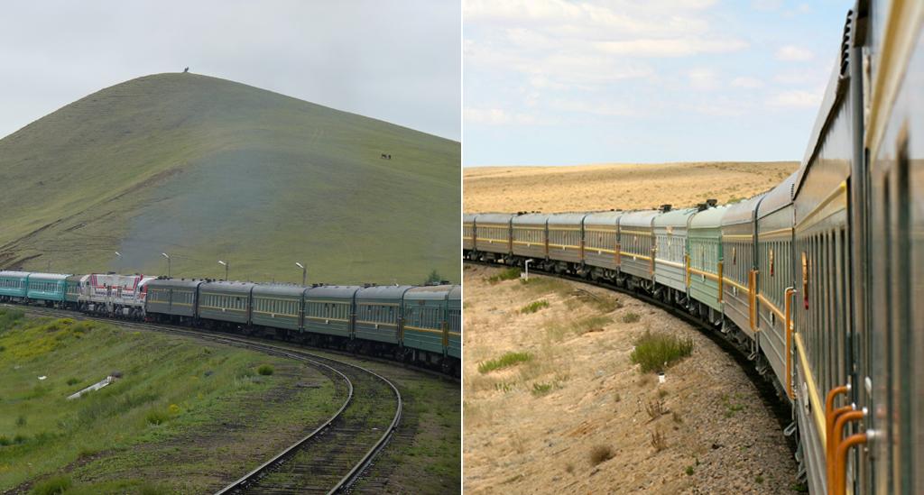 Transmongolië-Express