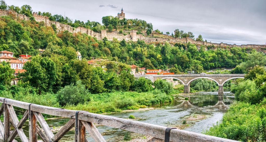 Tsarevets Fort Veliko Tarnovo