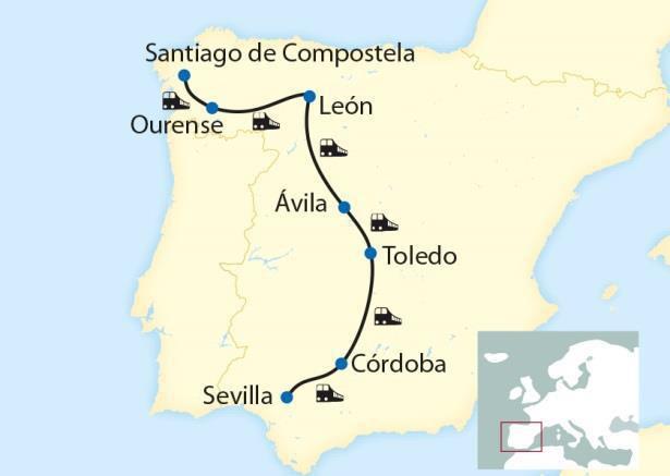 Uw route per Al Andalús